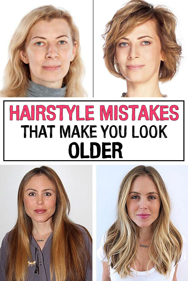 Hairstyle Mistakes that Make You Look Older - iwomenhacks