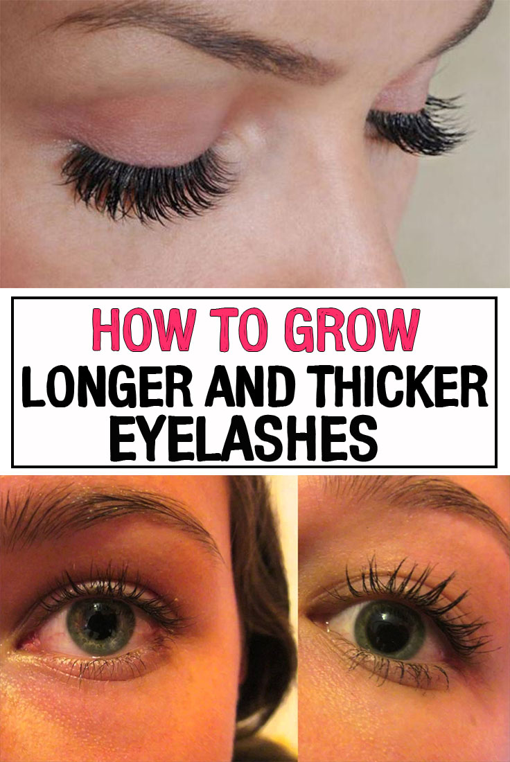 How to Grow Longer and Thicker Eyelashes